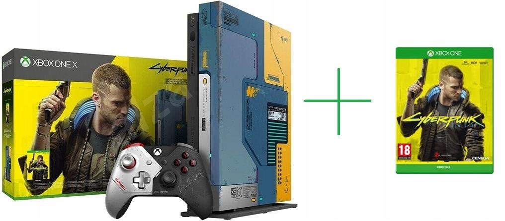 NOWA # Xbox One X Cyberpunk 2077 # GRA # GWARANCJA