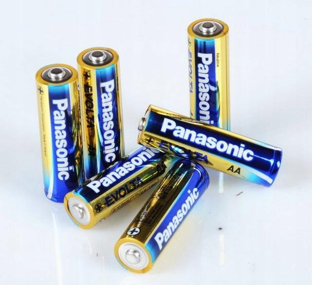 Bateria Alkaliczna Panasonic 1,5V LR6 Evolta AA -
