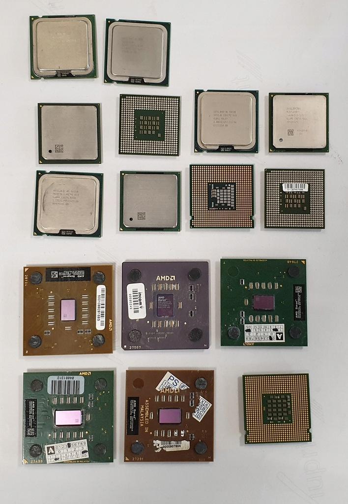 Procesory INTEL AMD LGA S478 ATHLON DURON-19 sztuk