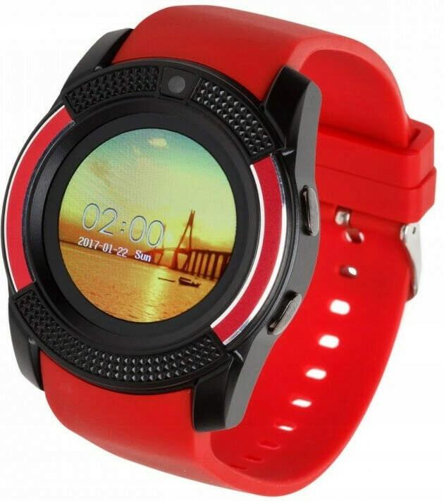 Smartwatch G11 czarno-czerwony