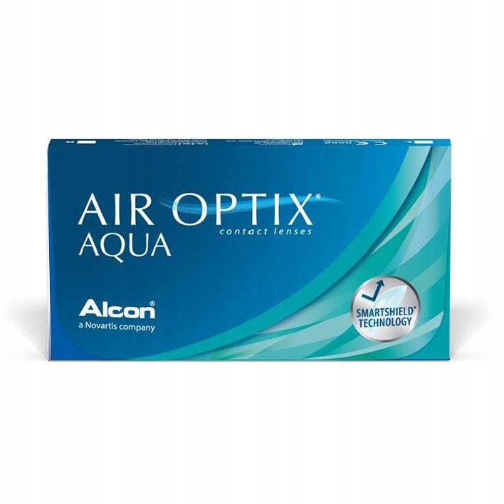 Air Optix Aqua 3 szt. -4,00 soczewki miesięczne