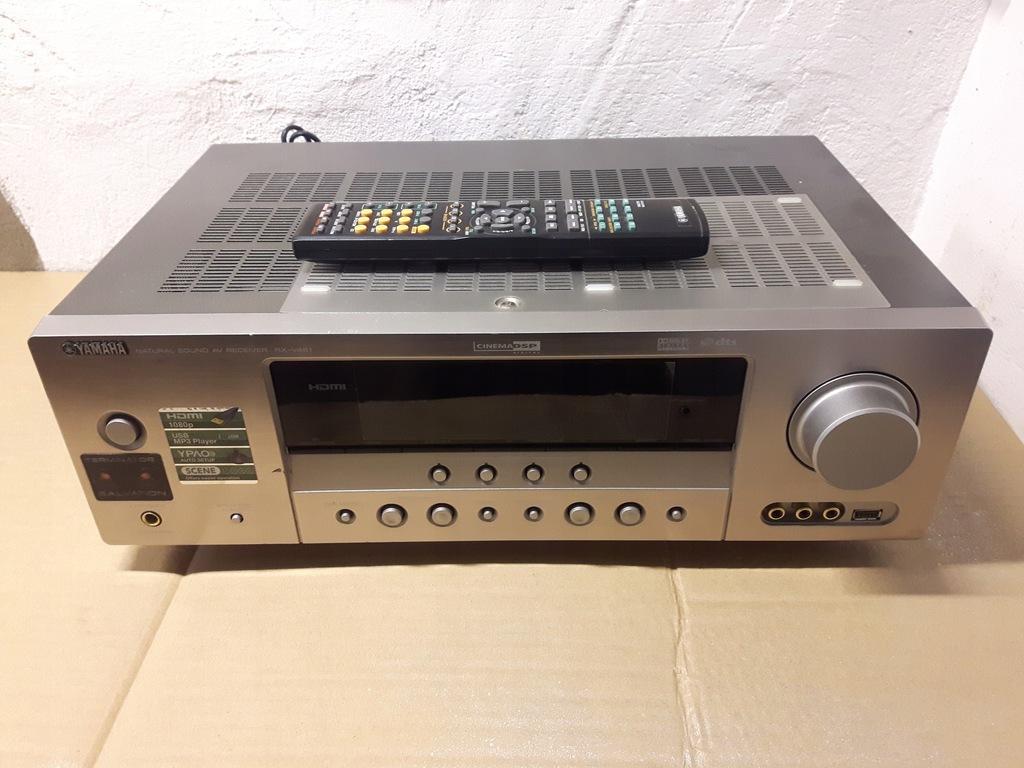 Yamaha RX-V461- Okazja - HDMI - USB - Pilot - DVD.
