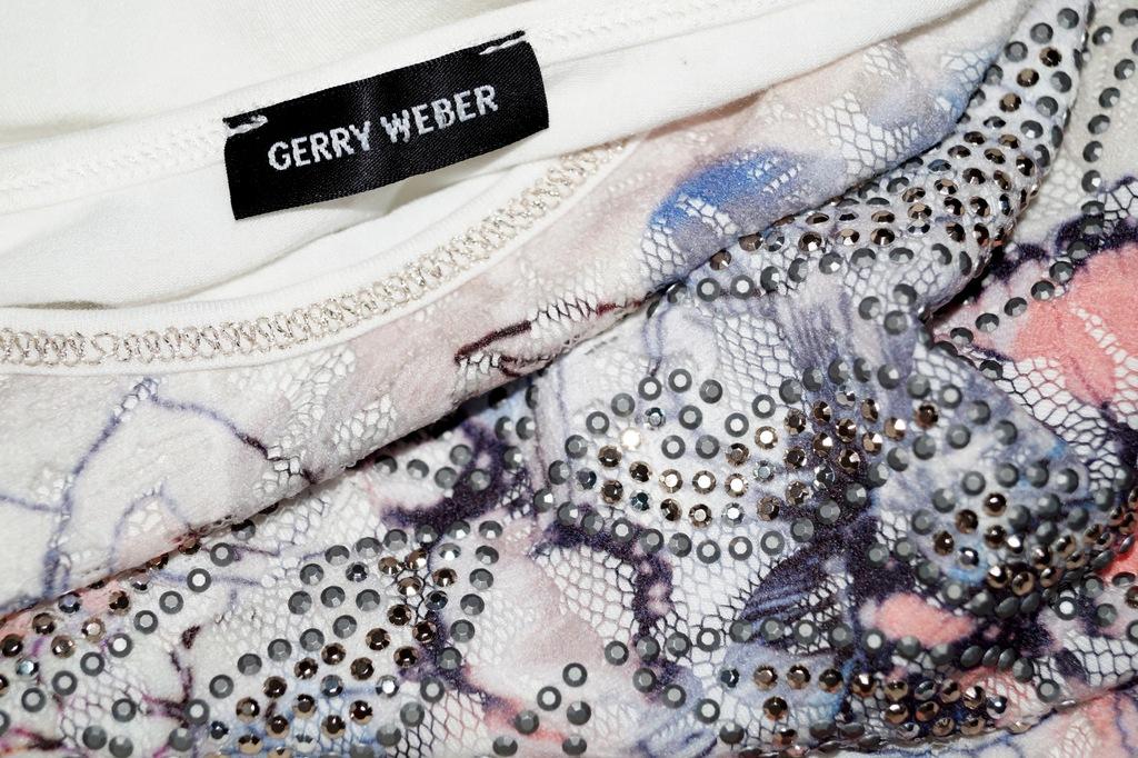 GERRY WEBER luksusowa tunika z cyrkoniami 38 40