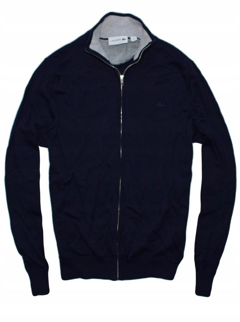 Lacoste M sweter na zamek NOWE kolekcje idealny