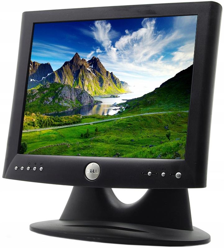 Monitor Dell 1503fp 15 Tani Monitor 8697990745 Oficjalne Archiwum Allegro