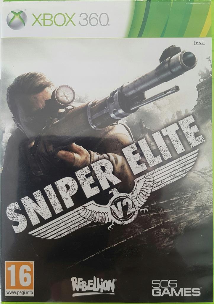 Sniper Elite V2 Xbox 360 Gra Strzelanka Snajper 7952493487 Oficjalne Archiwum Allegro