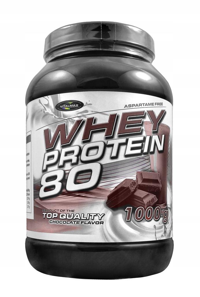 Vitalmax Whey Protein 80 1000g Bialko Masa Sila 8652976064 Oficjalne Archiwum Allegro
