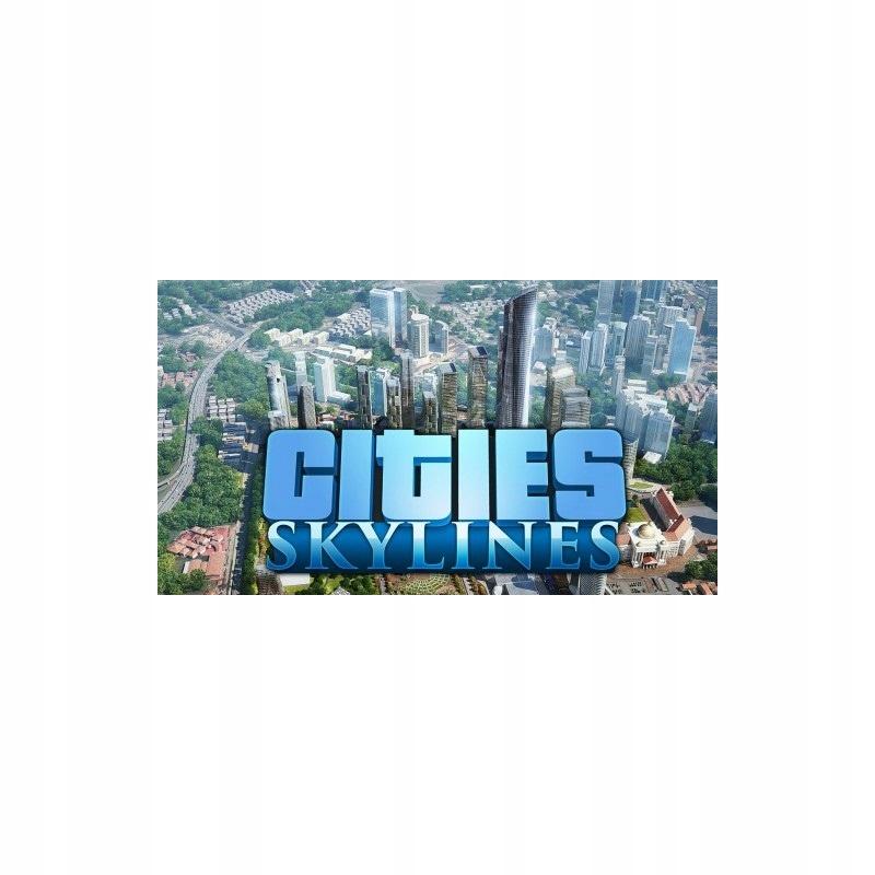 Cities Skylines + all DLC STEAM Automat 24/7