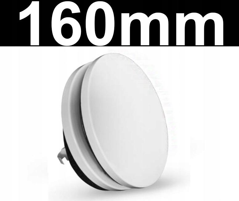 Anemostat nawiewny biały okrągły 160mm WENTYLACJA
