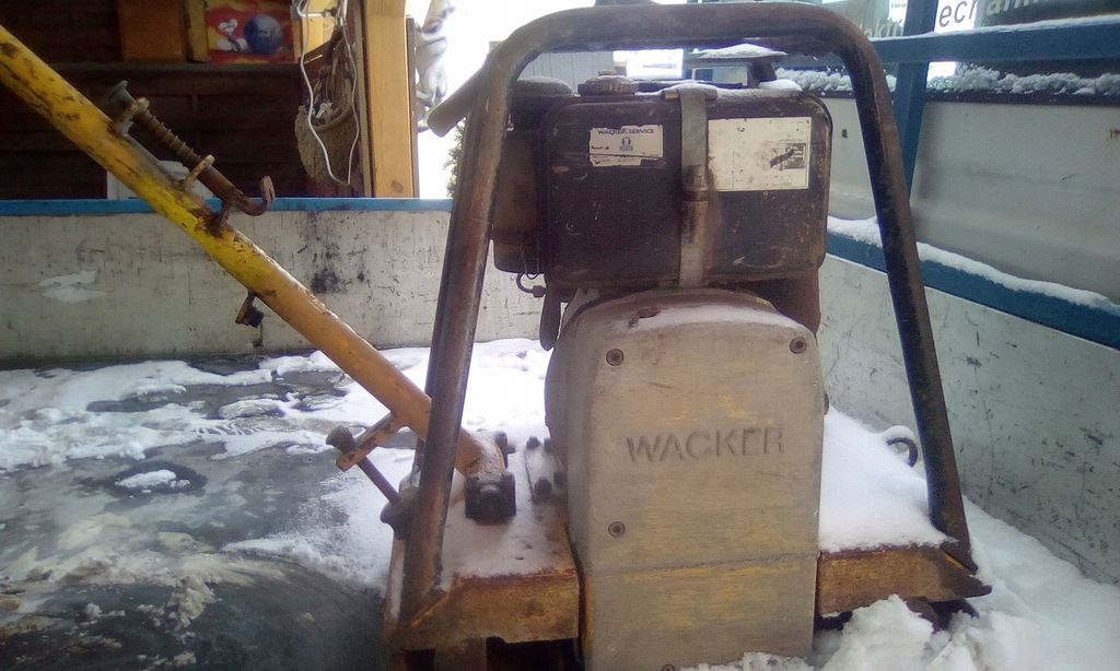 Zagęszczarka WACKER,silnik Hatz diesel