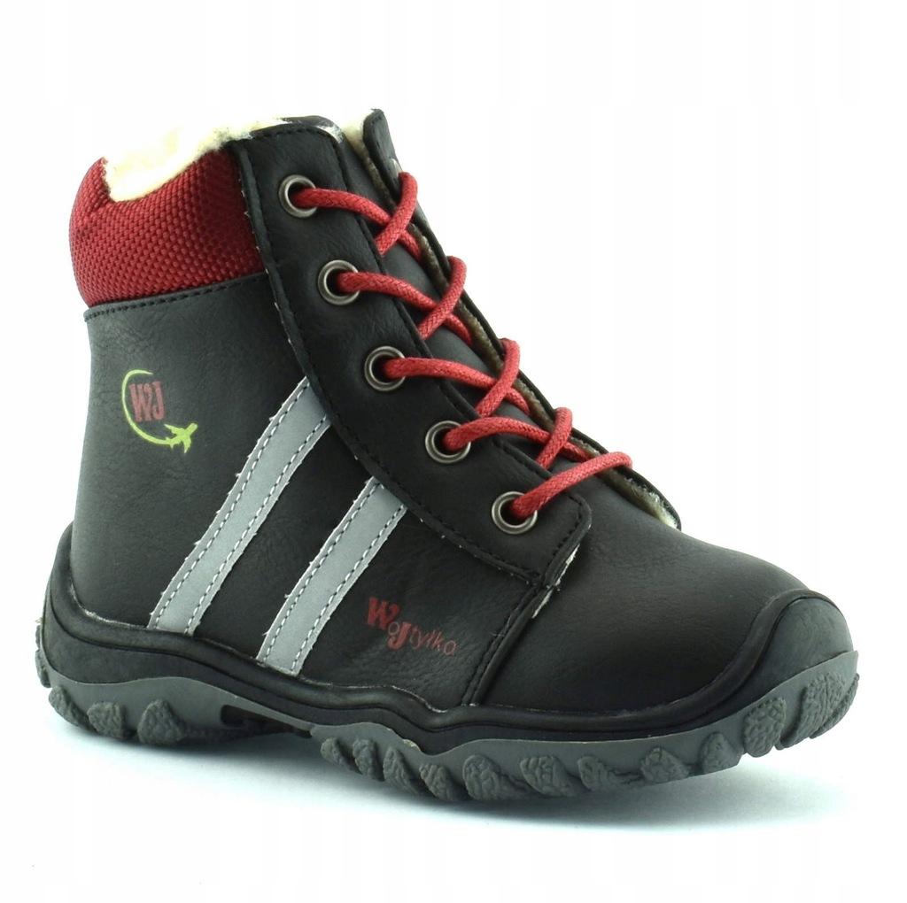 Buty zimowe dla dzieci Wojtyłko 11677 r.23