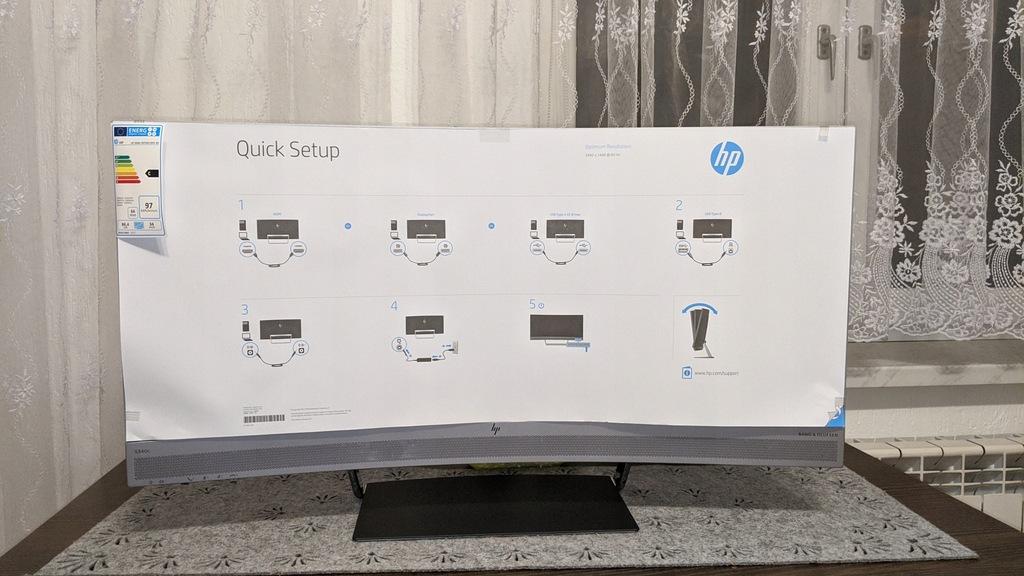 Nr.2 Nowy Monitor HP EliteDisplay S340c BCM