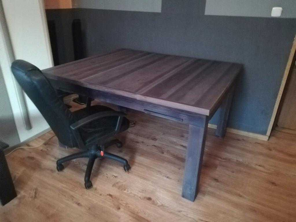 Stol Do Gier Planszowych Drewno 150x126cm 7907704373 Oficjalne Archiwum Allegro