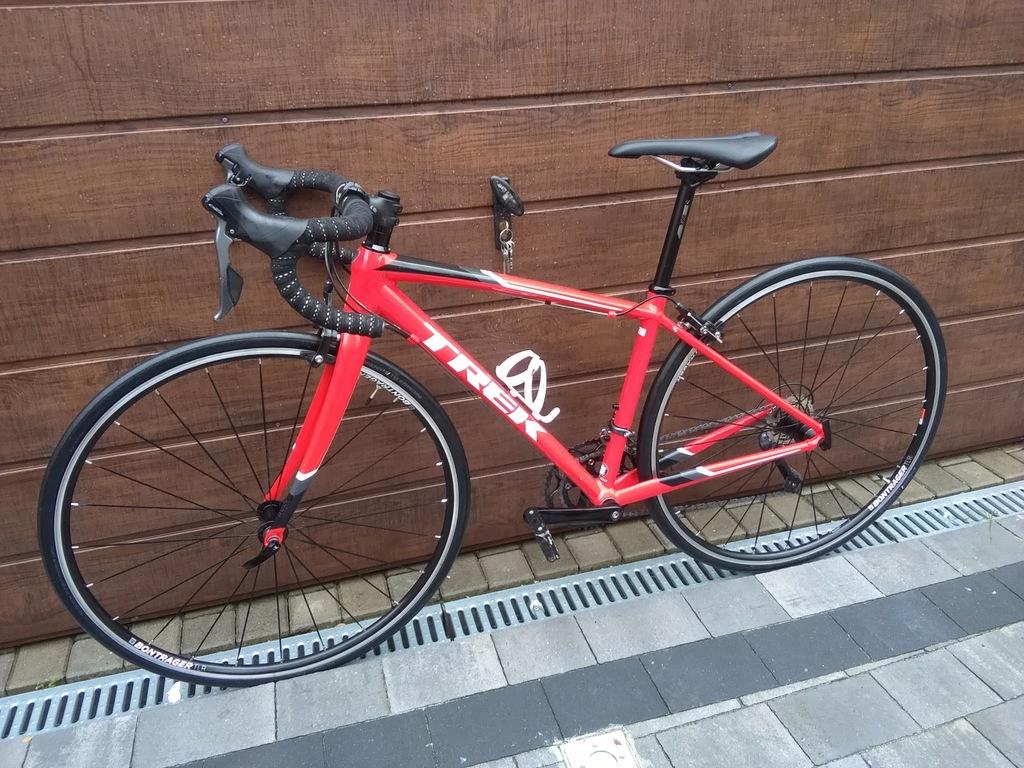 Rower szosowy TREK kolarzówka carbon 2x8 Claris