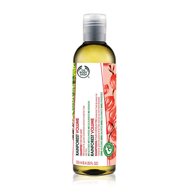THE BODY SHOP_RAINFOREST VOLUME SHAMPOO_400ml