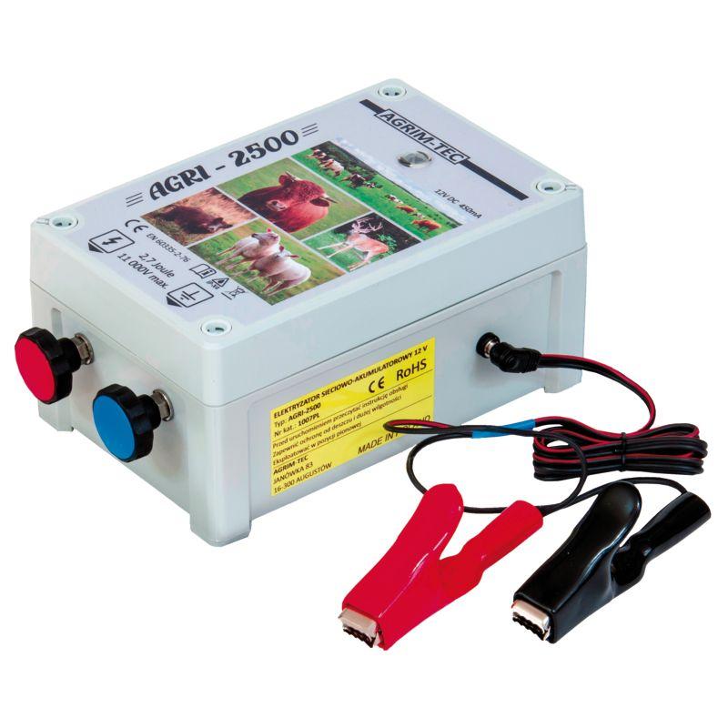 Elektryzator 12V AGRI-2500 648AGRI2500
