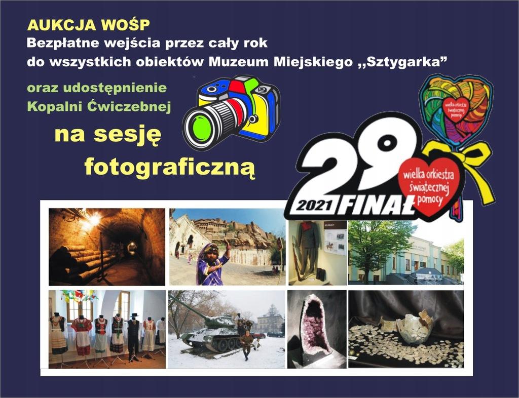 Sesja fotograficzna w MMS i karnet wstępu na rok