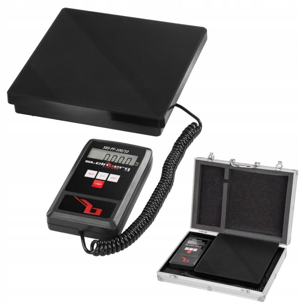 Waga pocztowa do listów i paczek SBS-PF-100 LCD do