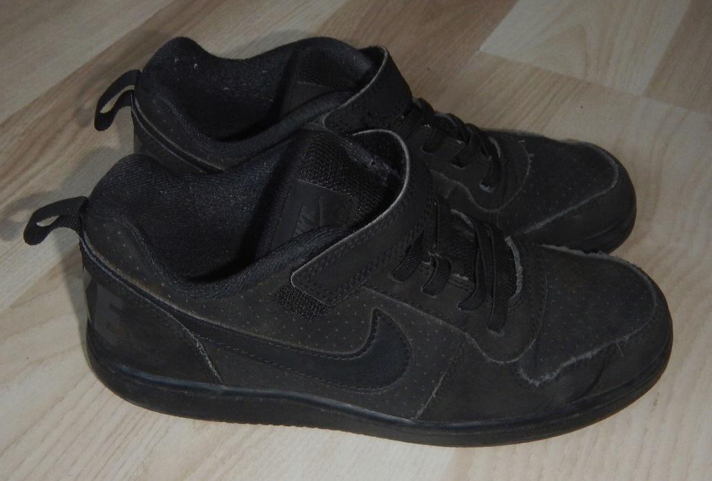 Buty sportowe nike czarne roz. 33