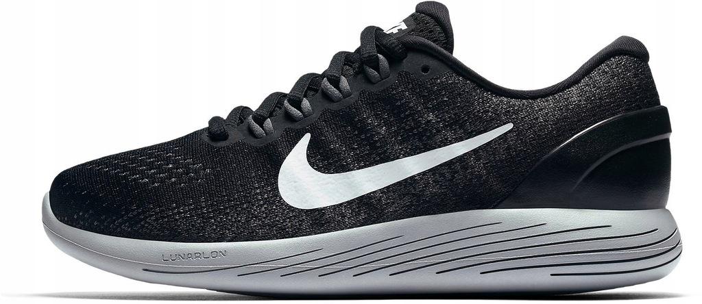 Męskie Buty Do Biegania Nike Lunarglide 2 Czarne Buty Białe