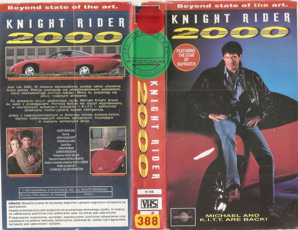 Rycerz 2000-Wehikuł nowej ery - VHS
