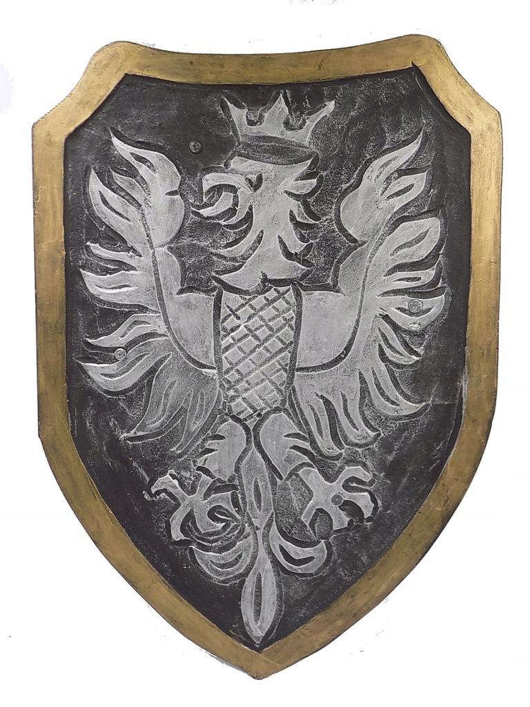 ORZEŁ w koronie Tarcza rycerska