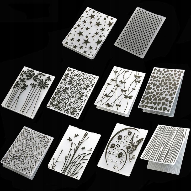 [55023] Szablon plastikowy papier do robienia