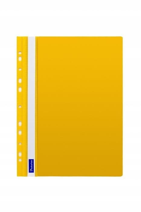 Skoroszyt zawieszany żółty A4 twardy 1 sztuka