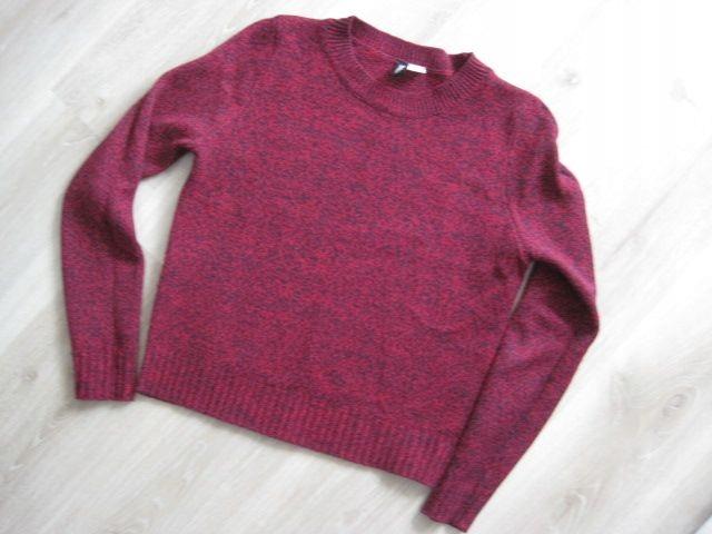 H&M sweterek jak nowy 36 S