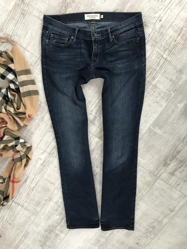 ABERCROMBIE&FITCH spodnie jeans stretch 40 L