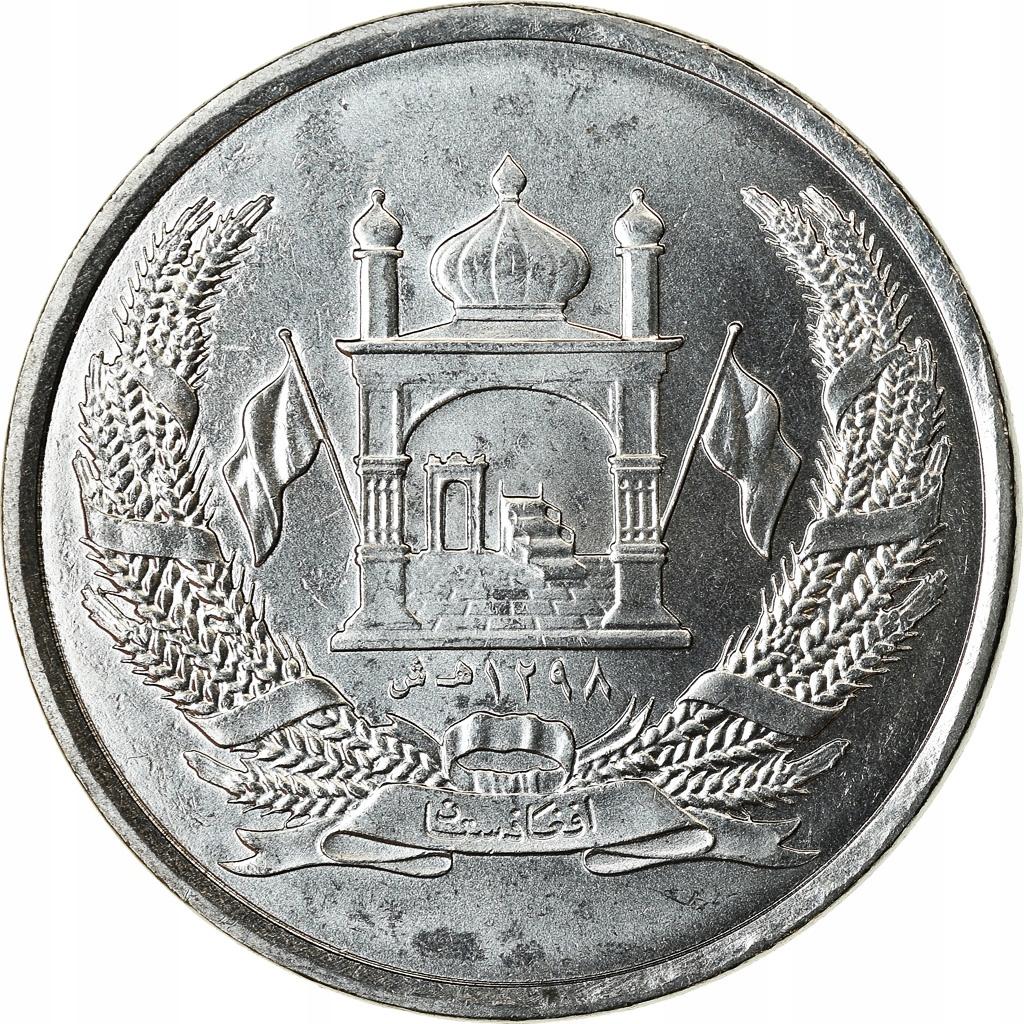 Moneta, Afganistan, 2 Afghanis, SH1383 (2004), Afg
