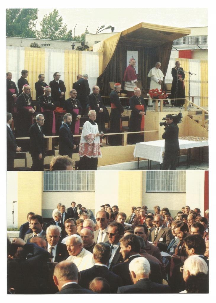 Płock. Wizyta Jana Pawła II 1991r. Zakład Karny