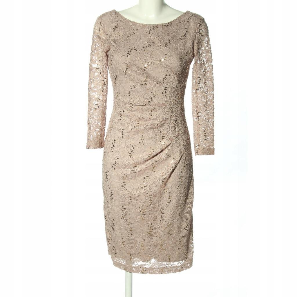 SWING Suknia wieczorowa Rozm. EU 38 kremowy