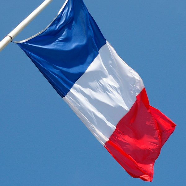 Flaga Francji 150 x 90 cm