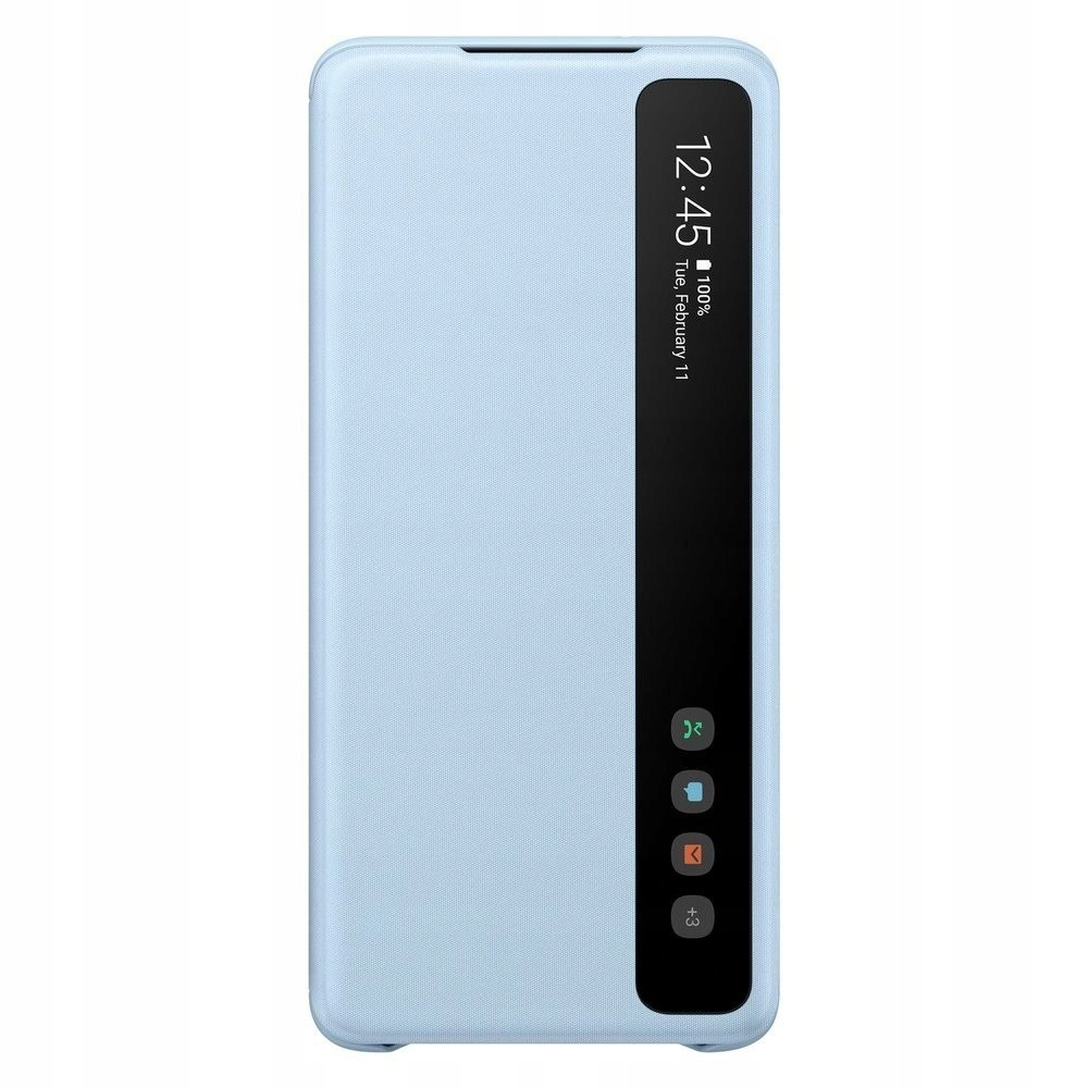 Etui Clear View Cover Sky Blue do Galaxy S20+