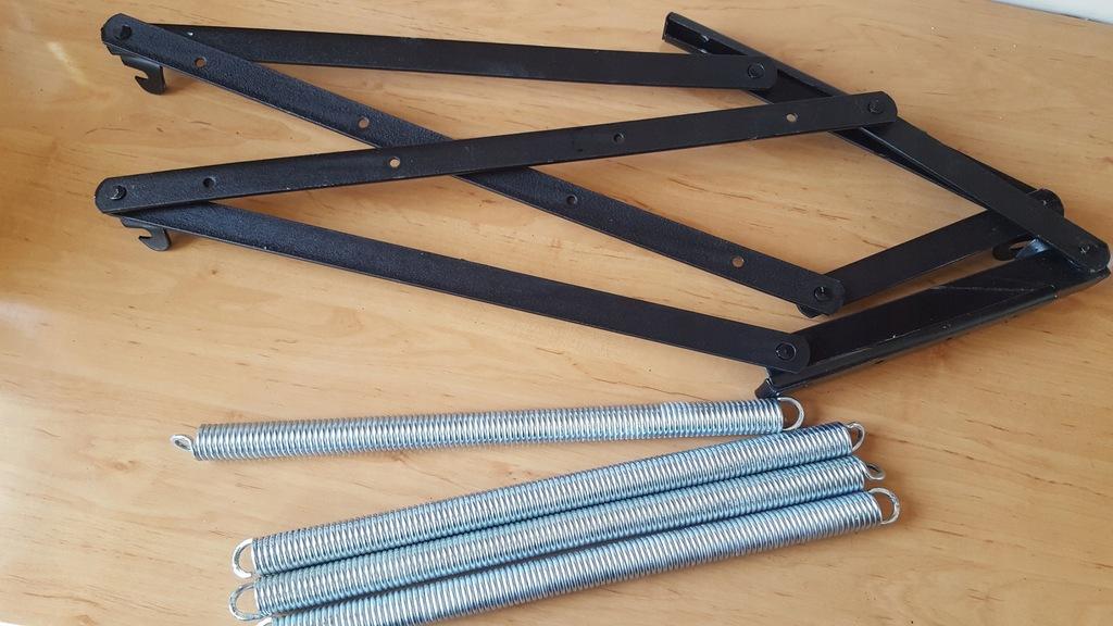 Podnośnik tapicerski - tapczanowy ze sprężynami