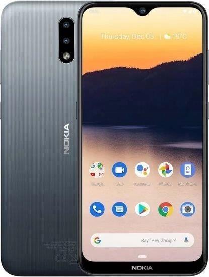 "Smartfon Nokia 2.3 32GB Charcoal Black (6,2"";"