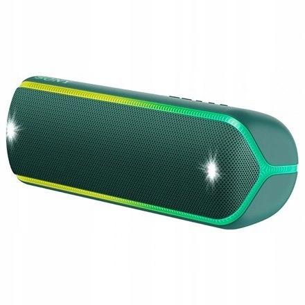 Sony SRS-XB32G Portable Bluetooth Speaker, Green