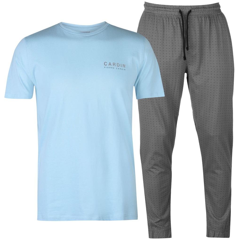 Piżama PIERRE CARDIN spodnie + koszulka PREZENT