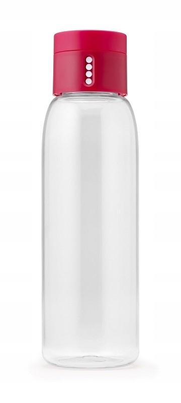 JOSEPH Butelka na wodę różowa Dot 600ml