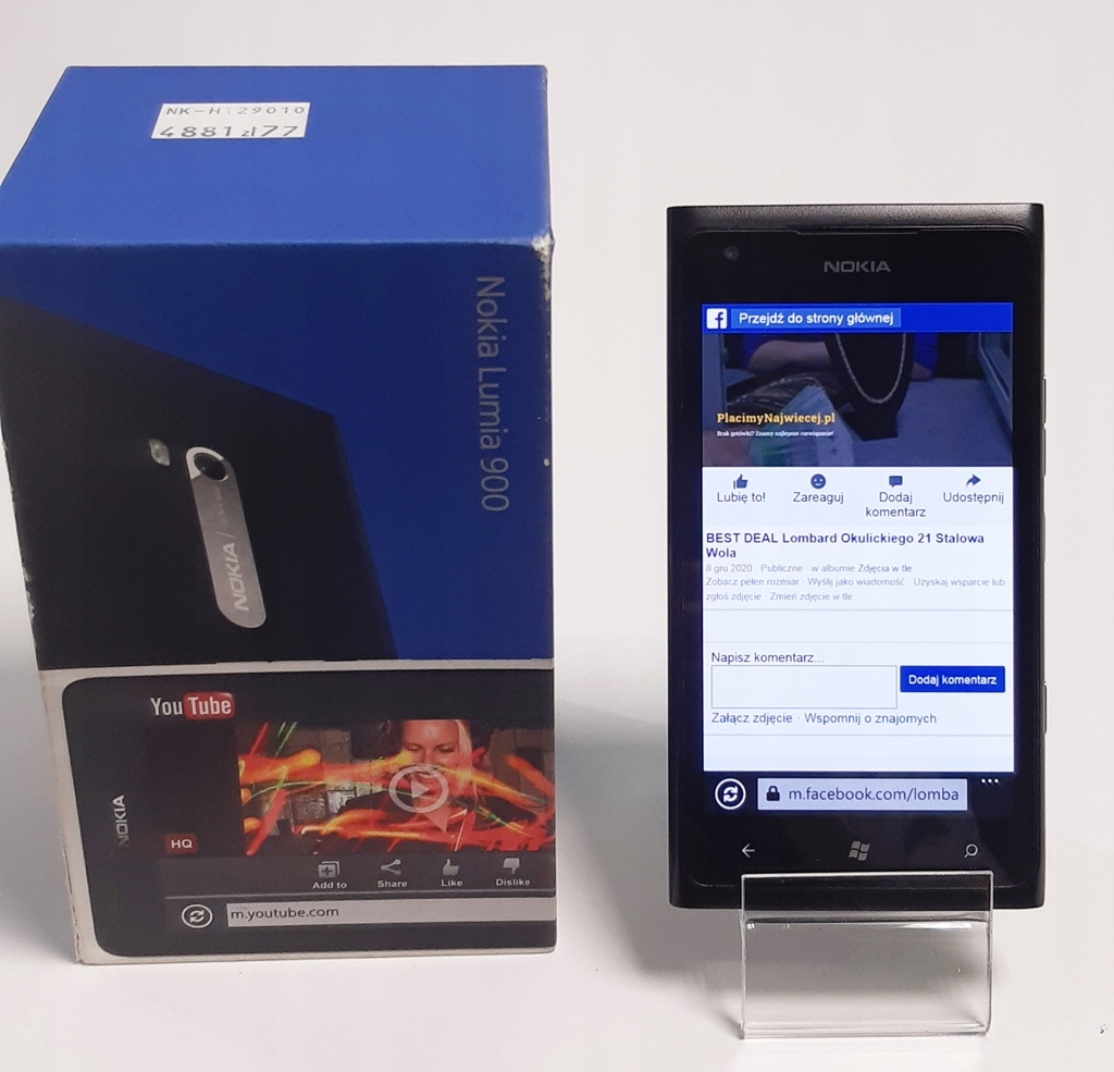 Nokia LUMIA 900 512MG/16GB Okazja A