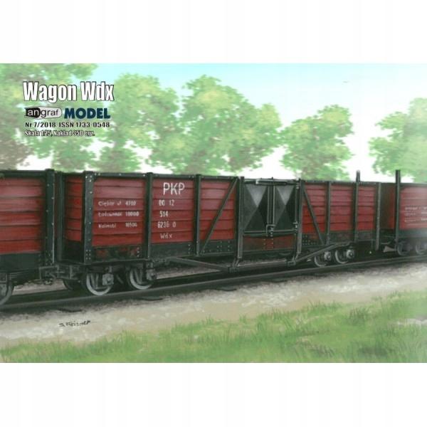 Wagon węglarka Wdx, Angraf Model, 1/25