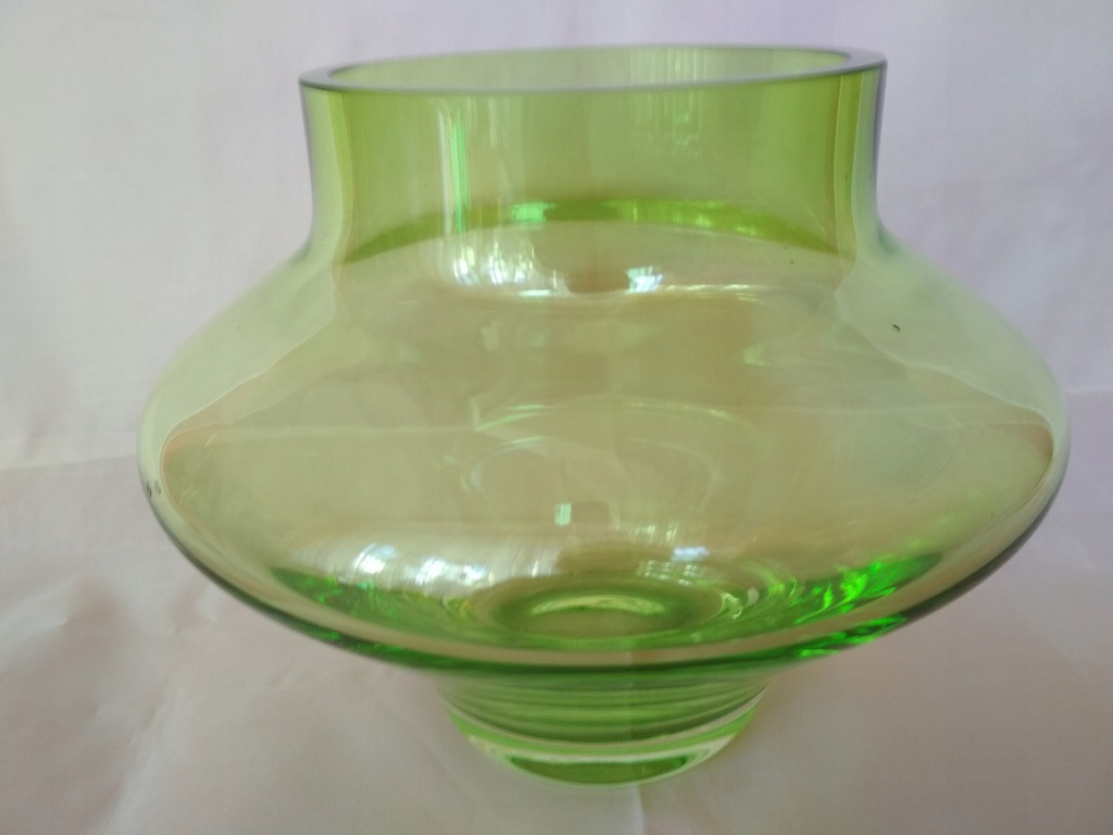 Piękny wazon kolorowe szkło 16-1