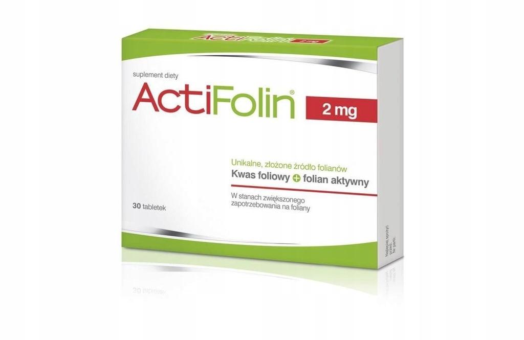 ActiFolin 2 mg tabletki 30 sztuk