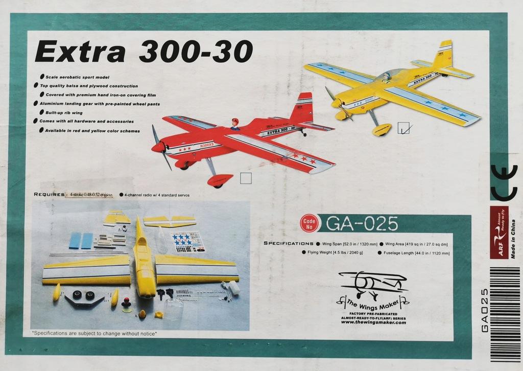 Extra 300 spalinka