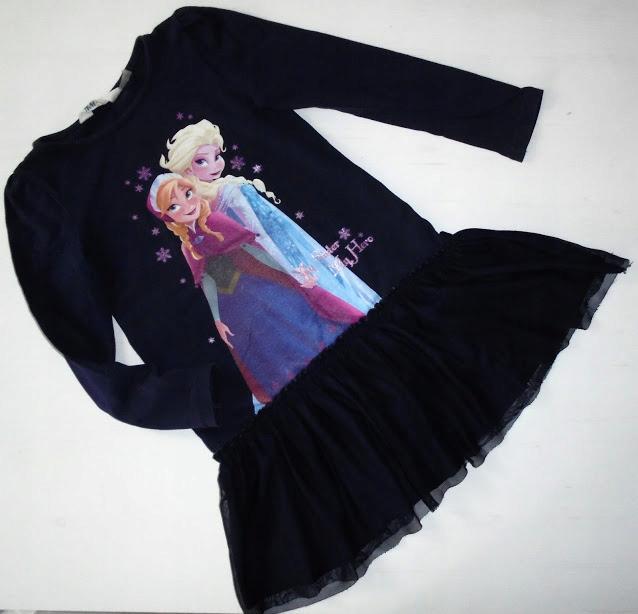 H&M sukienka FROZEN tiul roz.110-116