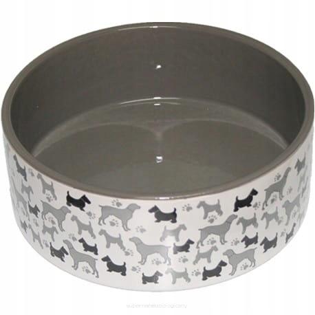 YARRO Miska ceramiczna dla psa Psy 12,5x4,5cm [Y27
