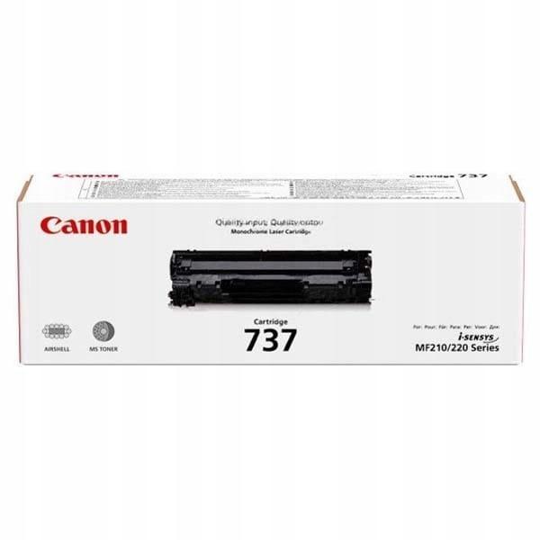 Canon oryginalny toner CRG737, black, 2400s, 9435B