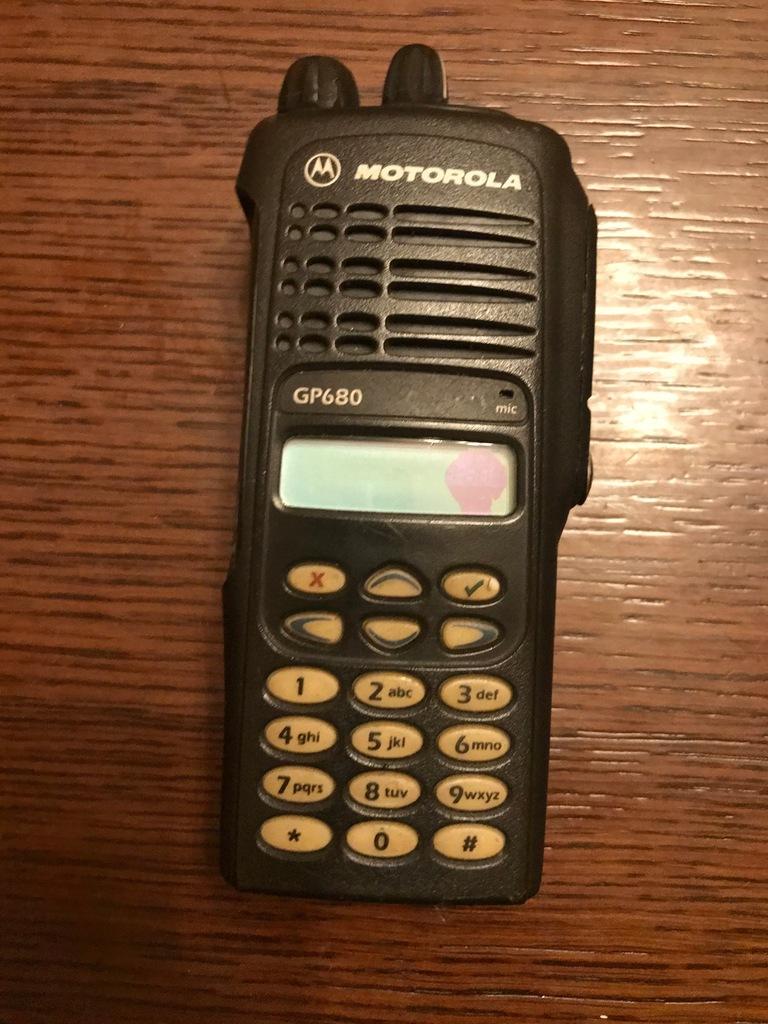RADIOTELEFOM MOTOROLA GP680 pw502h 403-470 mhz