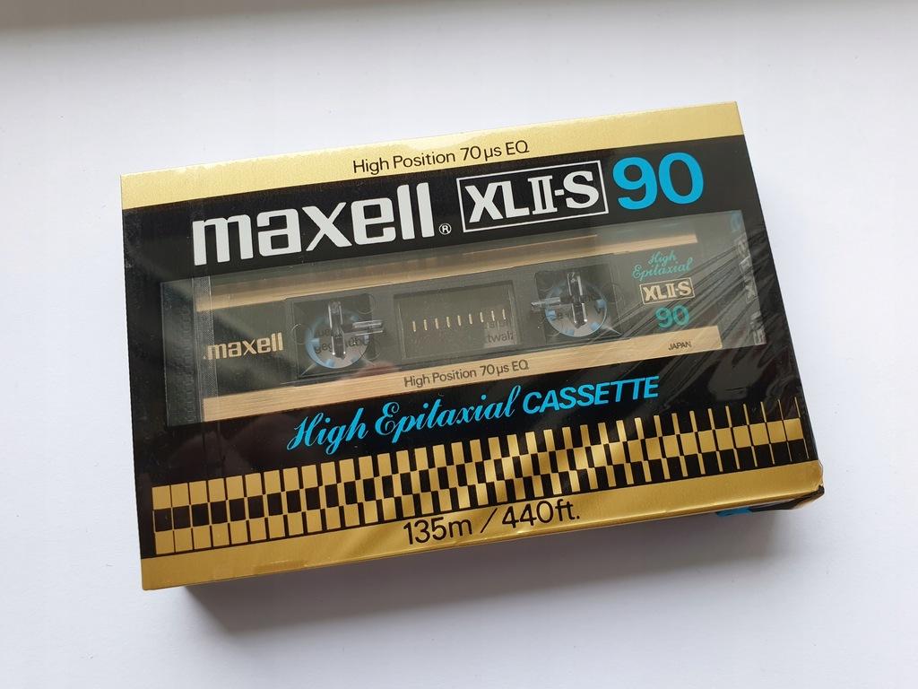 Kaseta MAXELL XL II - S 90 ( NOWA )